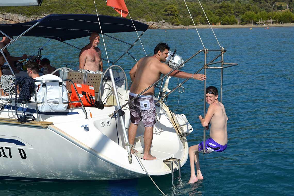 velaterapia integrazione baraca a vela